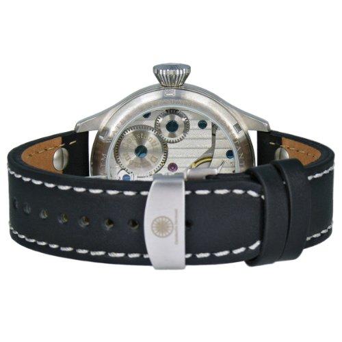Correa Reloj Negra Sumergible Con Metros Raider Piel Manual Constantin A 30 Caballero Durmont De 1TKJclF