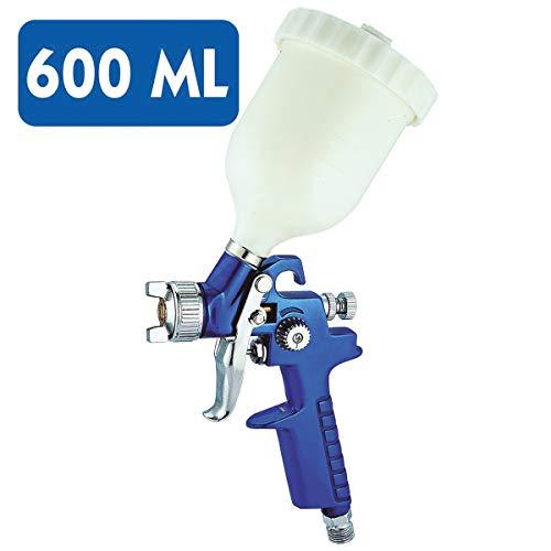 Pistola de pintura para para pintar coche con compresor de aire 600 ml - 1,7 mm - OFERTA ESPECIAL