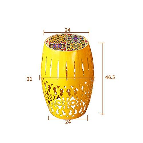 LXYFMS Européenne en Fer Forgé Mosaïque Extérieure en Plein Air Balcon Loisirs Meubles Dessert Boutique Café Table Et Chaise Combinaison Trois Pièces Table Pliante