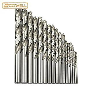 Generic 12mm: 100/BOX Top normalgroß HSS M2(6542#) Twist-Bohrer Bits für Metall Arbeiten, DIN338, vollständig Boden Industrie Bohrer 3mm 13mm