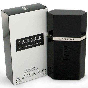 Loris Azzaro Azzaro Silver Black by Loris Azzaro for men 3.4 oz Eau De Toilette EDT spray