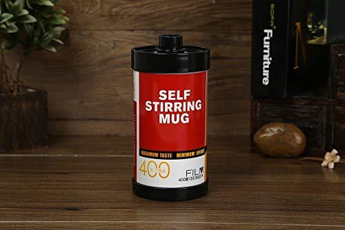 Hengta Automatische Mischung von Kaffeetassen Retro Film Electric Mischpult Cup Office Cup 304 Edelstahl