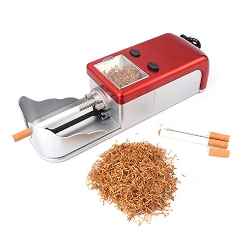 DSGYZQ Zigaretten-Einspritzungs-Maschinen, elektrische Zigaretten-Walzmaschine-Tabak-Hersteller-Rollen-Zigaretten-Rohre für das Weihnachtsgeburtstagsgeschenk des Vaters der Männer