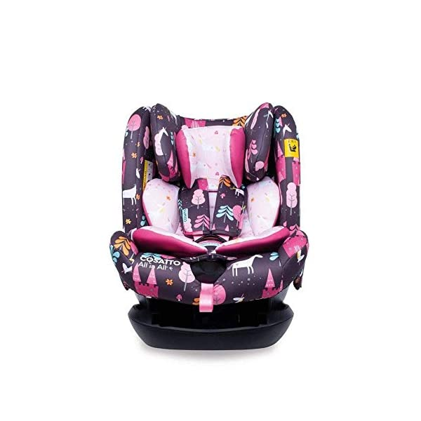 Cosatto Unicorn Land Matching Bundle Set Cosatto Suitable from birth to max weight of 25kg, lets your toddler use it for even longer Custom-crafted to fit your pushchair ideally Make a Change with our changing bag 6