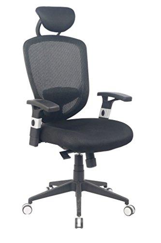 VIVA-OFFICE-Silla-ergonmica-de-oficina-de-malla-de-respaldo-alto-con-apoyabrazos-ajustables-y-soporte-lumbar-Negro