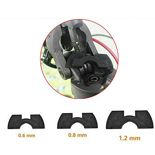 BODYART 3 Stück Gummi Schwingungsdämpfer Pad für Xiaomi Mijia M365 Scooter Zubehör 0,6/0,8/1,2 mm