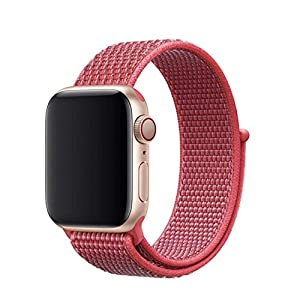 Armband für Apple Watch in Hibiskus 38/40mm passend für Apple Watch 1 2 3 4 5