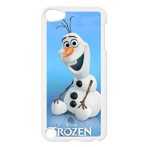 E3O71 Disney Gefrorene Zeichen Olaf B3O5JN iPod Touch 5 Fall Hülle weißen KJ7TOR6RR decken