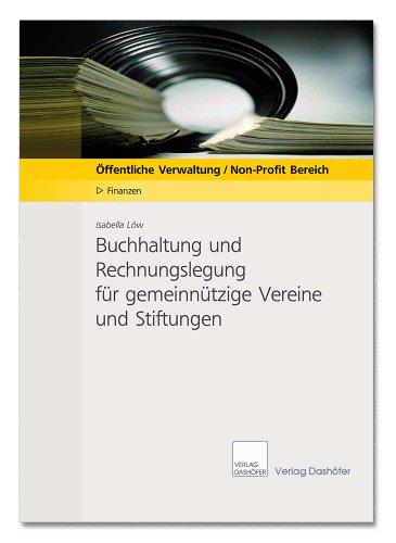 Buchhaltung und Rechnungslegung für gemeinnützige Vereine und Stiftungen (Low-stiftung)