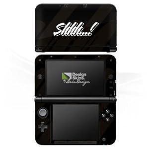 DeinDesign Skin kompatibel mit Nintendo 3 DS XL Aufkleber Sticker Folie Shhh Statements Rhianna