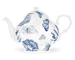 Portmeirion Botanic Blue Tea Bag Tidy