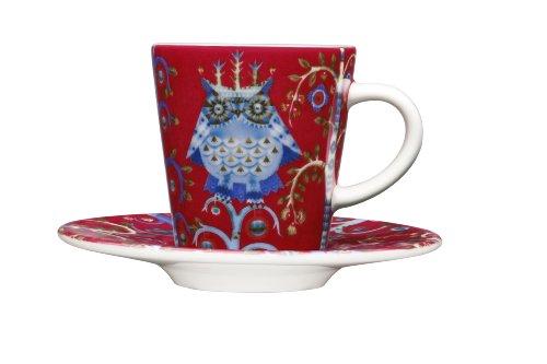 Iittala Taika 3-2/5-Ounce Capacity Espresso Cup, Red by Iittala - Taika Espresso Cup