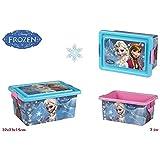 Caja infantil rectangular de Frozen