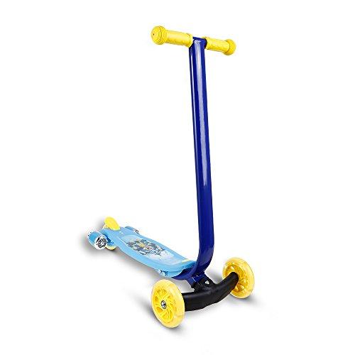 200lb Roller (WeSkate Kinder Roller Scooter mit LED Leuchträder und Board, Drei Räder Tretroller Kinderroller Kickboard aus Aluminiumlegierung für Mädchen Jüngere)