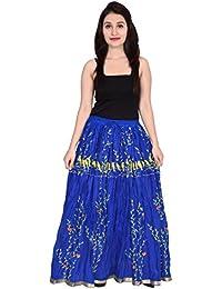 Decot Paradise Women's Cotton Printed Long Cotton Skirt
