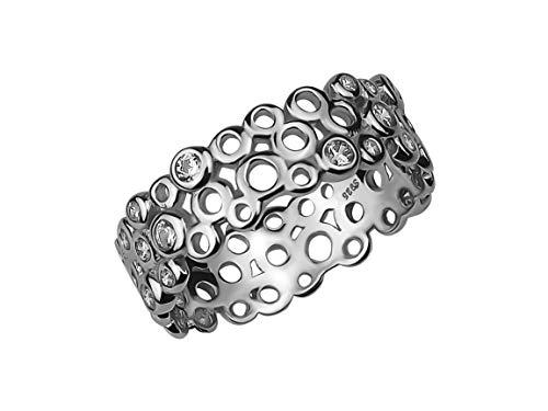 SOFIA MILANI Damen-Ring Ornament Kreise 925 Silber 10086 - (52 (16.6))