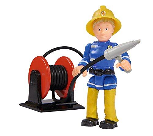 - 41wHx9CX2qL - Simba 109257661 – Feuerwehrmann Sam Jupiter Feuerwehrauto mit 2 Figuren, 28 cm