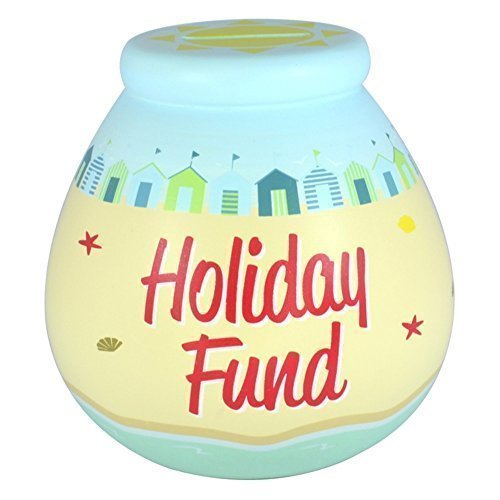 Seaside Ceramic (Pot of Dreams - Seaside Holiday Fund - Ceramic Money Box)