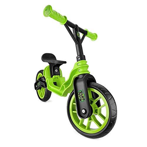 Preisvergleich Produktbild Toyrific Mini Xootz Folding Balance Bike Green (Versand aus UK)