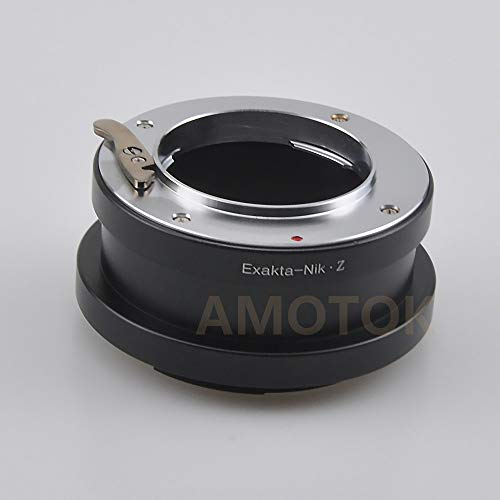 Mamiya 645 M645 Objektiv, Pentax 645 Objektiv, HB V Objektiv, Contarex CRX Objektiv, Pentacon 6 Objektiv, Exakta Objektiv für Nikon Z Mount Z6 Z7 Full Frame Kamera, Exakta to Nikon Z Adapter