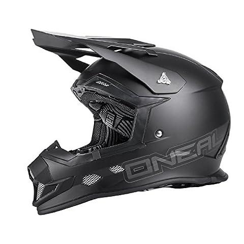 O'Neal 2Series EVO MX Helm Flat Schwarz, 0210F-3, Größe XL (61/62 cm)
