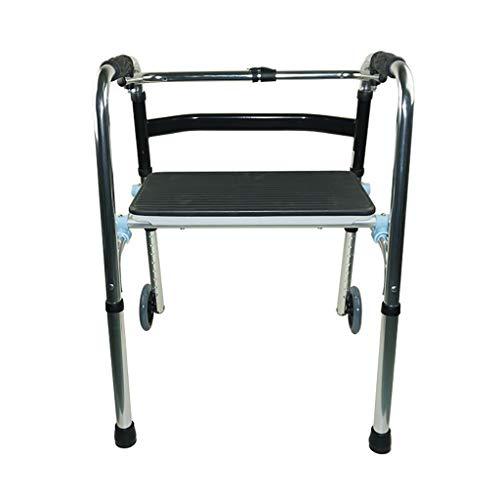 Lattice Gehgestell Verstellbare Gehhilfe - Medizinische Gehhilfen FüR Erwachsene - Aluminiumlegierung Garantierte Langlebigkeit Und Hervorragende UnterstüTzung FüR Senioren