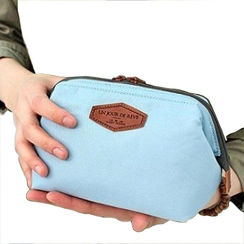 Fulltime® Girl Fashion Beauty Cosmetic Bag Voyage multifonction Maquillage Pouch