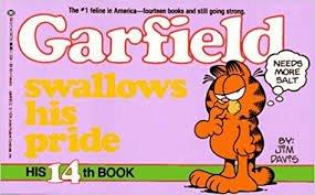 Garfield Swallows His Pride His 14th Book