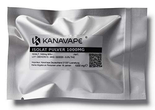 KanaVape® CBD crystal isolat vaporisator polvo 99,8% puro - 1000mg
