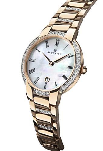 Accurist Signature Collection 8299 - Reloj analógico de Cuarzo para Mujer con Cristal de Zafiro