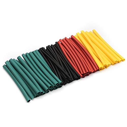 HOUYAZHAN 560 pcs 2: 1 Tube De Thermorétractable 6 Couleurs 11 Tailles Ensemble De Tuyauterie Assortiment Assorti Gaine Wrap Câble Kit de Fil pour DIY (Size : 560pcs)