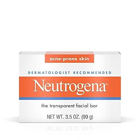 Neutrogena Acne-Prone Facial Bar 3.5oz Box (2