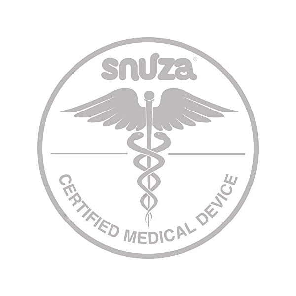 Snuza Hero MD (Medically Certified) Portable Baby Breathing Monitor Snuza No cords, wires, pads, or external power Portable and easy to use monitoring device Certification CE (93/42/EECEuropean Medical Device Directive) 3