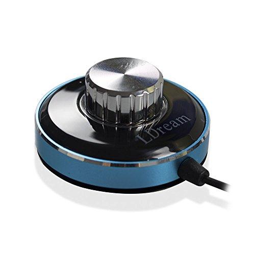 LDream ricevitore Bluetooth per auto, uscita 3,5mm, con doppio caricatore USB 5V/3A
