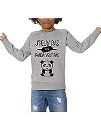 Sweat - J Peux Pas Mon Panda Veut Pas - Enfant bc10d86e77cb
