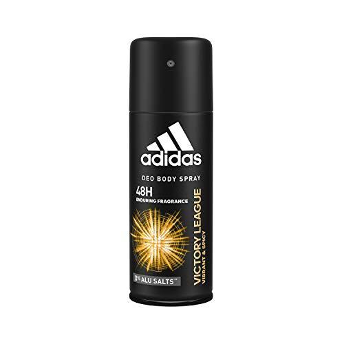 adidas Victory League Deo Body Spray für Herren - dauerhafter Schutz vor Gerüchen und Schweiß bis zu 48 Stunden lang, 6er Pack (6 x 150 ml) - Lavendel, Süßem Basilikum