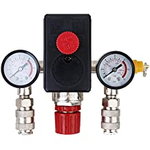 Interruptor de Control de Presión de Compresor de Aire Válvula Presión ...