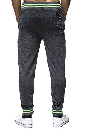 LEIF NELSON - Pantalon - Homme - - Anthrazit-GrŸn