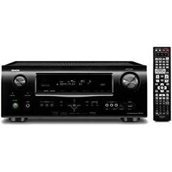 Denon AVR 1911 7.1 AV-Receiver (HDMI mit 3D, Audio Return Channel, USB Eingang, 7x 125 Watt) schwarz