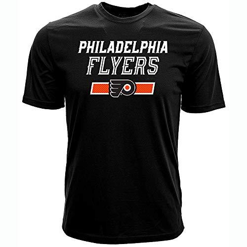 NHL Philadelphia Flyers James Van Riemsdyk Mens Undisputed Name & Number Richmond Tee, Black, Small - Philadelphia Vans