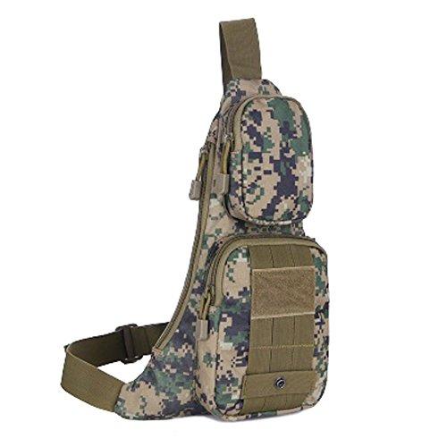Outdoor Bergsteigen Tasche/Man Bag/ Mode-Sport-Umhängetasche C
