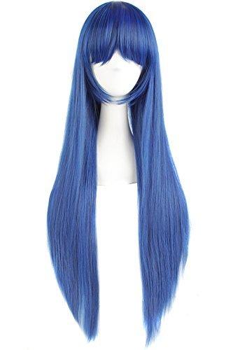 Kostüm Blau Perücke - MapofBeauty 32