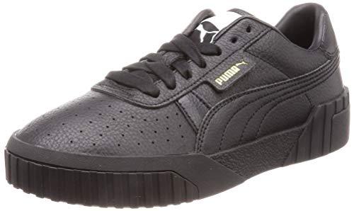Puma Damen Cali WN\'s Sneaker, Schwarz (Puma Black-Puma Black), 39 EU