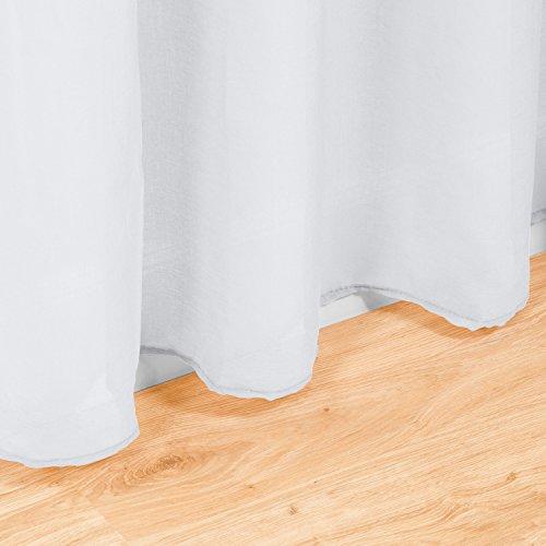Juego cortinas transl cidas visillos para ventanas - Visillos para salones ...