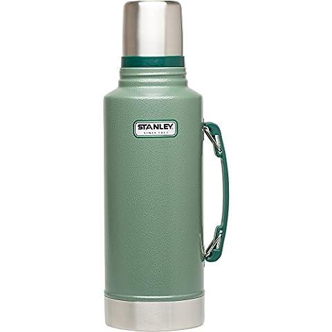 Stanley Classic Vakuum Isolierflasche Edelstahl 2000ml - Thermoskanne mit Griff