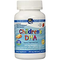Children's DHA, 250 mg, Strawberry Flavour, 360 Chewable Soft