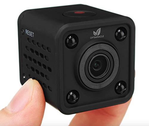 Mini Kamera Full HD 1080P wlan tragbare kleine überwachungskamera mikro nanny cam mit bewegungsmelder und infrarot nachtsicht compact sicherheit kindermädchen kamera cube mit WiFi für innen und aussen