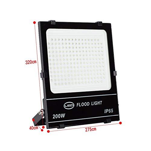 XEX LED Strahler Mit,Scheinwerfer Wasserdichtes Arbeitslicht Der Niederspannung 12/24/36V Im Freien Sicherheitslicht Passend Für Nachtfischenbeleuchtung (Color : 200W, Size : Warm Light) -