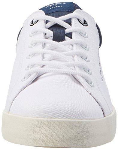 Pepe Jeans Londra Herren North Nylon Low-top Weiß (bianco)