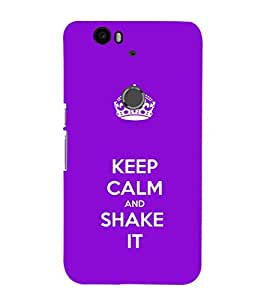 Ebby Premium 3d Desinger Printed Back Case Cover For Huawei Nexus 6P (Premium Desinger Case)